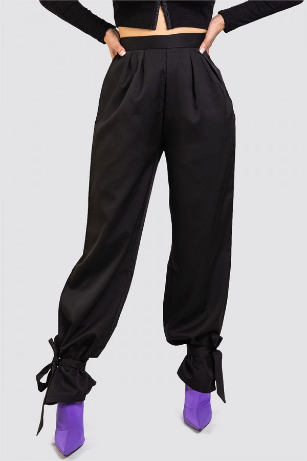 Byxor - Perfectly Fitted Knot Black
