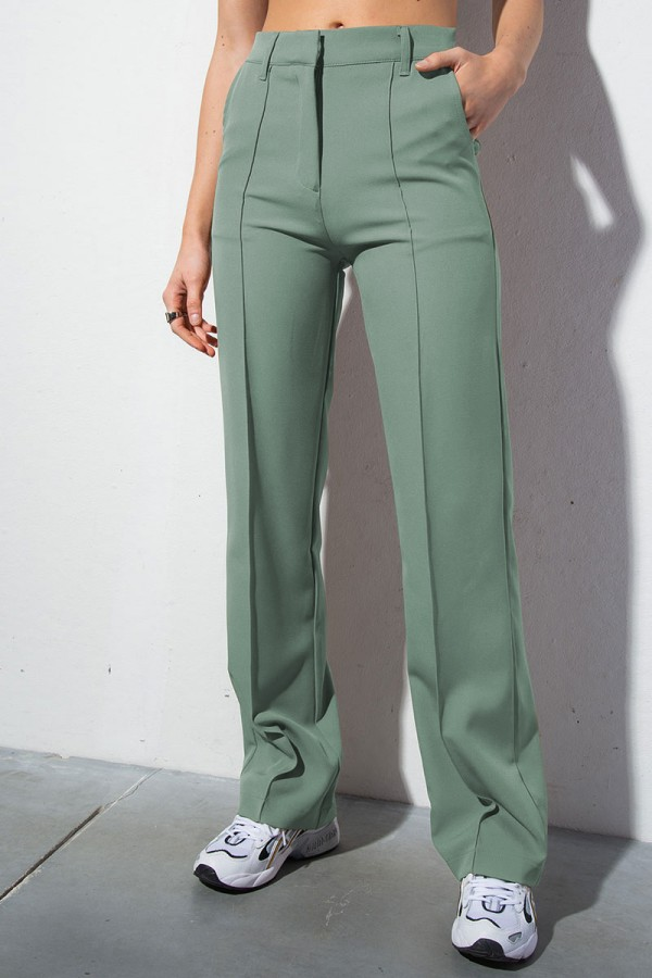 Perfect Fit Suit Pants 1 - Green