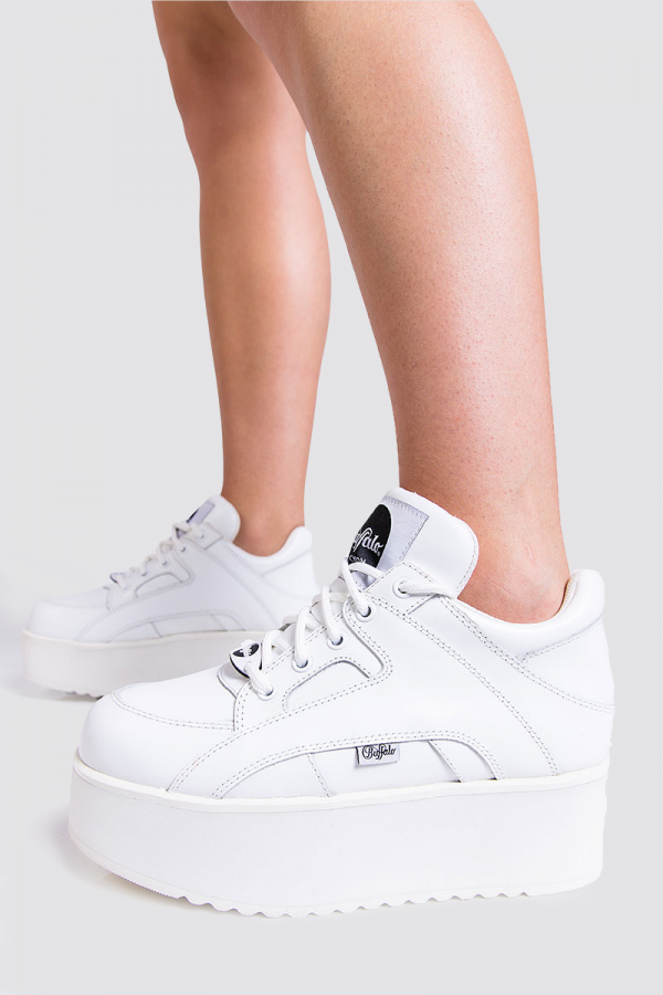 Sneakers - Nappa Leather Blanco