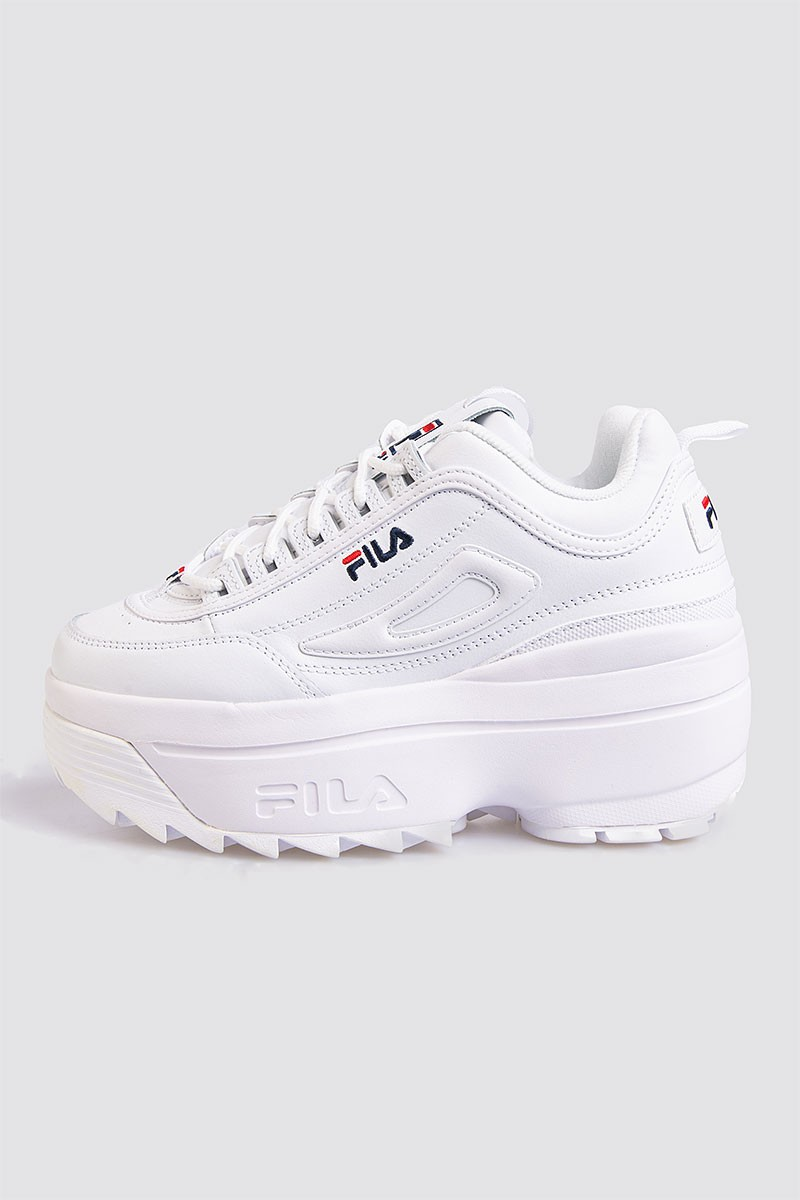 FILA Sko Disruptor Wedge White